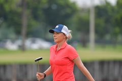 Kemp Sarah de Australia en el amo 2017 del PTT Tailandia LPGA Fotos de archivo