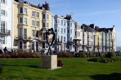 Kemp Town, Brighton, Angleterre, R-U photographie stock libre de droits