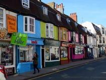 Kemp Town, Brighton, Großbritannien Lizenzfreies Stockbild