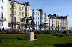 Kemp Town, Brighton, Inghilterra, Regno Unito Fotografia Stock Libera da Diritti