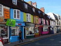 Kemp Town, Brighton, Regno Unito Immagine Stock Libera da Diritti