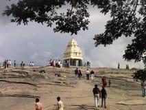 Kempe Gowda Watchtower Arkivfoto