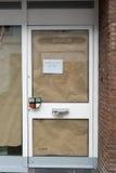 KEMPEN, ΓΕΡΜΑΝΊΑ - 24 ΦΕΒΡΟΥΑΡΊΟΥ 2017: Ένα τοπικό ταξιδιωτικό γραφείο έχει τους περίβολους η επιχείρησή του στην πόλη Στοκ Φωτογραφίες