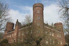 Kempen slott Arkivfoton