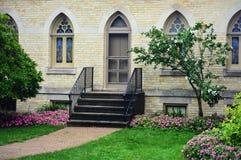 Kemper mitt, Kenosha, Wisconsin - Begonia Garden royaltyfria foton