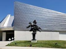 Kemper museum av samtida konst i Kansas Missouri USA arkivbild