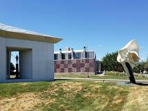 Kemper museum av samtida konst i Kansas Missouri USA arkivfoton