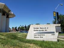 Kemper museum av samtida konst i Kansas Missouri USA royaltyfri bild