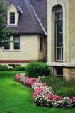 Kempercentrum, Kenosha, Wisconsin - Begonia Garden Royalty-vrije Stock Afbeeldingen