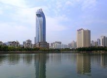 Kempinski hotel and zhongshan hospitall Stock Photography