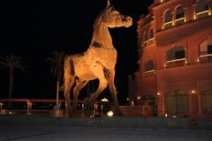 Kempinski-Perle Katar lizenzfreie stockfotografie