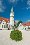 Kempten, Германия Стоковая Фотография