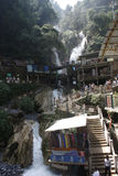 Kempty Falls Waterfall Mussoorie in India Royalty Free Stock Photography