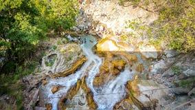Kempty Waterfall in Mussoorie royalty free stock photo