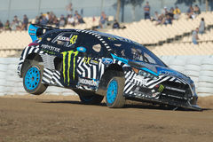 Ken Block.  Barcelona FIA World Rallycross Royalty Free Stock Photography