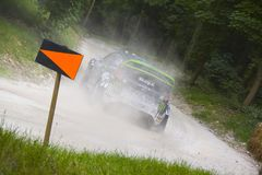 Ken Block at Goodwood Festival of Speed Stock Photography
