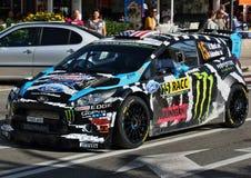 Ken Block - WRC - 08 Lizenzfreie Stockfotos