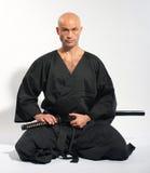 Ken-do warrior Royalty Free Stock Image