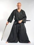 Ken-do warrior stock photos