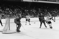 Ken Dryden, los Montreal Canadiens Foto de archivo