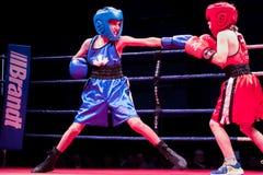 Ken Goff Memorial Boxing Classic stock afbeeldingen