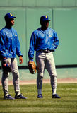 Ken Griffey Jr et Ken Griffey Sr , Seattle Mariners Photo libre de droits
