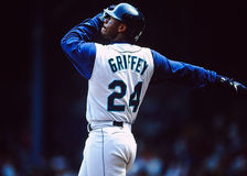 Ken Griffey Jr. Seattle Mariners Stock Photo