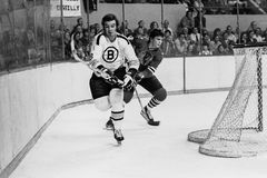 Ken Hodge, Boston Bruins Lizenzfreie Stockbilder