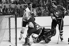 Ken Hodge, Boston Bruins Lizenzfreies Stockbild