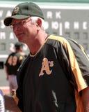 Ken Macha, Oakland Athletics Manager. Stock Photo