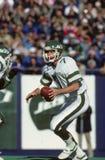 Ken O'Brien. New York Jets QB, Ken O'Brien, #7.   (Image taken from color slide Royalty Free Stock Photos
