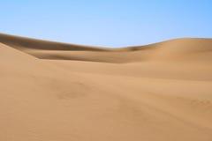 öken sahara Arkivfoto