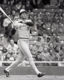 Ken Singleton. Baltimore Orioles Outfielder Ken Singleton. Image taken from B&W negative Royalty Free Stock Photos