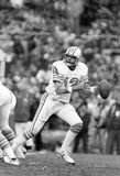 Ken Stabler. Houston Oilers quarterback Ken Stabler, #12. (Image taken from a b&w Negative Stock Photography