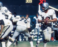 Ken Stabler Oakland Raiders Royalty Free Stock Photography