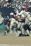 Ken Stabler. Oakland Raiders quarterback Ken Stabler, #12. (Image taken from a color slide Royalty Free Stock Photos