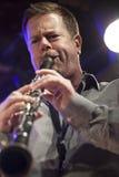 Ken Vandermark under konsert Arkivbilder