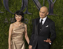 Ken Watanabe Arrives at 2015 Tony Awards Stock Photos