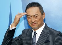 Ken Watanabe. At the Los Angeles premiere of `Godzilla: King Of The Monsters` held at the TCL Chinese Theatre in Hollywood, USA on May 18, 2019 stock photography