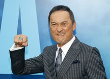 Ken Watanabe. At the Los Angeles premiere of `Godzilla: King Of The Monsters` held at the TCL Chinese Theatre in Hollywood, USA on May 18, 2019 royalty free stock photos