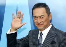 Ken Watanabe. At the Los Angeles premiere of `Godzilla: King Of The Monsters` held at the TCL Chinese Theatre in Hollywood, USA on May 18, 2019 royalty free stock image