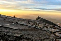 Kenabalu Peak in Malaysia stock photo