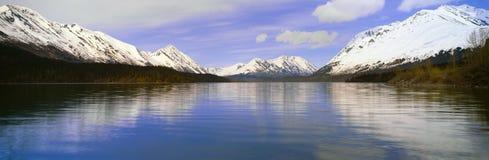 Kenai湖, Kenai半岛,阿拉斯加 免版税库存照片