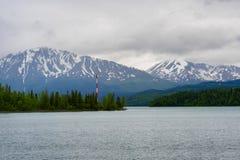 湖Kenai 库存图片