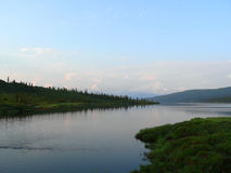 Kenai River. A landscape showing the Kenai River area of Alaska Stock Photography