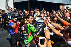 Kenan Sofuoglu Wins Stock Photography