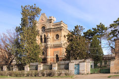 Kenassa in Simferopol (Crimea). Kenassa is the Karaite religious building in Simferopol, a monument of architecture of the late XIX century stock photography