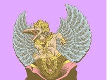 Kencana di wisnu di Garuda Fotografia Stock Libera da Diritti