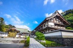 Kencho-ji tempel Arkivbild