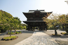 Kenchoji寺庙,镰仓,日本 免版税图库摄影